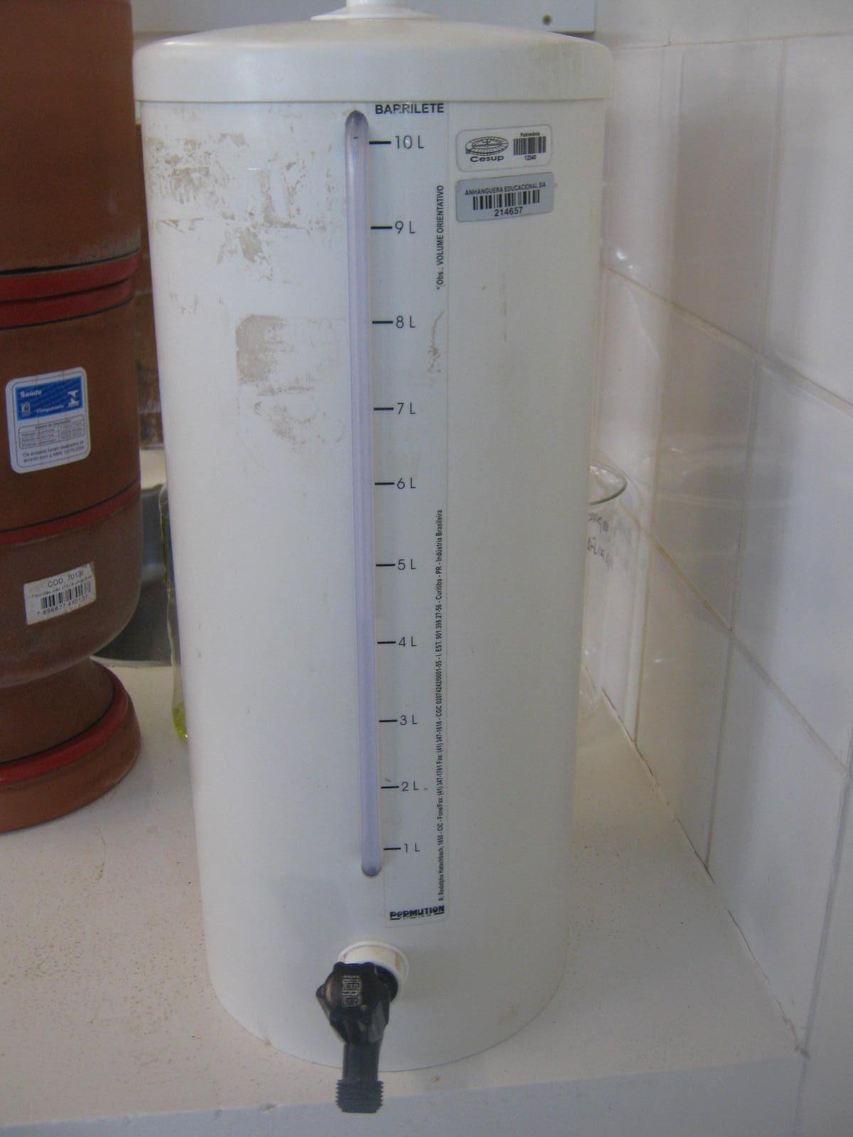 Barrilhete em PVC 10L