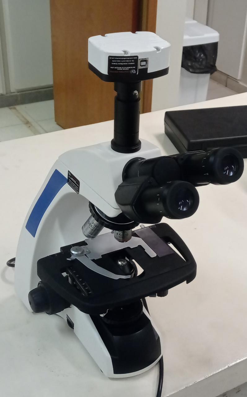 Microscópio (camêra acoplada)